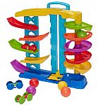 Kid Connection 9-Pc 2-in-1 Spiral & Racing Challenge Play Set $9.88