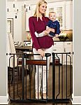 Regalo Home Accents Extra-Wide Walk-Through Baby/Pet Gate $29.99