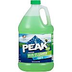 1-Gallon Peak Premium Bug Cleaner Windshield Washer $0.99