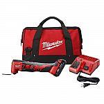 Milwaukee M18 18-Volt Li-Ion Cordless Oscillating Multi-Tool Kit w/ 1.5Ah Battery $119