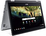 Acer Chromebook Spin 11 HD Convertible Laptop (N3350 4GB 32GB) $289.57
