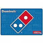 $25 Domino's Gift Card + $5Bonus Card $25 (Email Delivery)