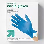 100-Count Nitrile Exam Gloves $8