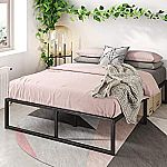 Zinus Lorelei 14 Inch Platform Bed Frame Full $52, Queen $56