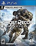 Tom Clancy's Ghost Recon Breakpoint (PS4) $5.99