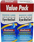 6-count Bausch & Lomb Advanced Eye Relief Maximum Redness Reliever $5.61