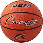 Champion Sports Official Heavy Duty Rubber Cover Nylon Basketballs $6