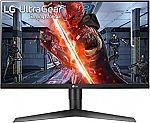 """LG 27GL650F-B 27"""" FHD G-Sync 144Hz Gaming Monitor $246.99"""