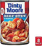 8-Pk Dinty Moore Beef Stew 15 Oz $8.32