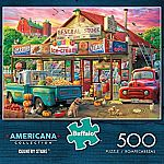Americana Collection Country Store 500 Piece Jigsaw Puzzle $9