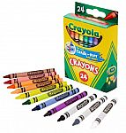Crayola 24-Count Crayons $0.50 and more