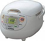 Zojirushi NS-ZCC18 10-Cup Neuro Fuzzy Rice Cooker $137