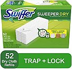 156-Count Swiffer Sweeper Dry Mop Refills $25.91, Arm & Hammer Laundry Detergent 3 for $12 & More