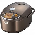 Zojirushi NP-NVC18XJ Induction Heating Pressure Rice Cooker & Warmer, 10 Cup (Uncooked) (Made in Japan) $296