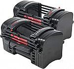 1 Pair PowerBlock EXP Stage 1 Adjustable Dumbbell Set $292.82