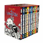 Diary of a Wimpy Kid Box of Books (Books 1-10) Hardcover $50 (Org $140)