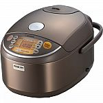 Zojirushi Induction Heating Pressure Rice Cooker & Warmer 10 Cup NP-NVC18 $296
