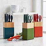 6-Piece Zwilling J.A. Henckels Now Knife Block Set $70