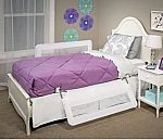 "43"" x 20"" Regalo Swing Down Double-Sided Bed Rail Guard $18.46"