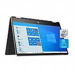 "HP Pavilion x360 2-in-1 14"" FHD Touch-Screen Laptop (i5-1035G1, 8GB, 256GB SSD) $499"