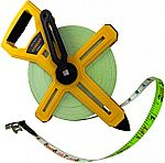 Komelon 6633 300-Feet Open Reel Fiberglass Tape Measure $18.82
