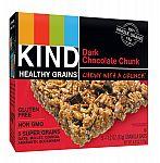 40-count KIND Healthy Grains Bars, Dark Chocolate Chunk $12.07