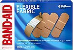 100-Count Band-Aid Flexible Fabric Adhesive Bandages $4.94