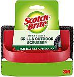 3M Scotch-Brite Heavy Duty Grill & Outdoor Scrubber $3.96