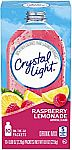 Crystal Light Raspberry Lemonade Drink Mix (60 On-the-Go Packets) $2.30