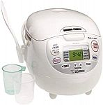 Zojirushi NS-ZCC10 5.5-Cup (Uncooked) Neuro Fuzzy Rice Cooker $119.69 & More