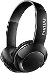 Philips SHB3075BK BASS+ Wireless Bluetooth On-Ear Headphones with Mic $16 + Free Shipping