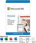 Microsoft Office 365 Personal 12-month subscription $34.99 (50% off)