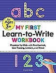 My First Learn to Write Workbook: Practice for Kids with Pen Control, Line Tracing, Letters $3.53