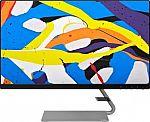 "Lenovo - Q24i-10 24"" IPS LED FHD 75Hz 4ms FreeSync Monitor $129.99"