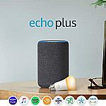 Amazon Echo Plus (2nd Gen) with Philips Hue Bulb $75