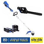 Kobalt 80-Volt Trimmer & Blower Combo w/ 2.5Ah Battery & Charger $159