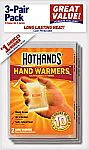 3-Pair HotHands Hand Warmers