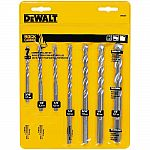 7-Piece DeWalt Rapid Load Carbide Masonry Drill Bit Set $6.99