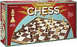 Family Classics Chess with Folding Board & Full Size Chess Pieces $5.50
