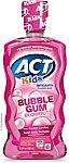 16.9-Oz ACT Kids Anti-Cavity Fluoride Rinse (Bubblegum Blowout) (3 for $6) & More