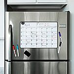 Magnetic Dry Erase Calendar for Fridge $7.50