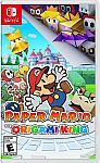 Paper Mario: The Origami King -- Standard Edition (Nintendo Switch, 2020) $49.90 and more