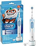 Oral-B Kids Electric Toothbrush With Sensitive Brush Head and Timer $19.99