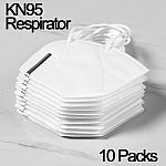 10-Ct KN95 Disposable Protective Face Mask Respirator $5.28 + Free Shipping