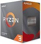 AMD Ryzen 3 3100 4-Core, 8-Thread Unlocked Desktop Processor $99