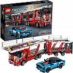 LEGO Technic Car Transporter 42098 + Chevrolet Corvette ZR1 42093 Building Kit $160, Porsche 911 RSR (42096) $125