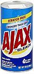 14-oz Ajax Powder Cleanser with Bleach $1