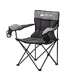 Ozark Trail Hazel Creek Cold Weather Folding Camp Chair with Mittens $13.67
