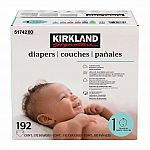 (Starts 08/05) COSTCO - Kirkland Signature Baby Diapers Size 1 & 2 $22.50, Sizes 3 - 6 $28.50