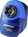 Bostitch QuietSharp 6 Heavy Duty Pencil Sharpener $16, Bostitch  Heavy Duty 40 Sheet Small Size Stapler $7.88 and more